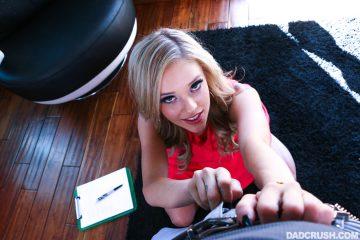 super hot blonde babe Kali Roses