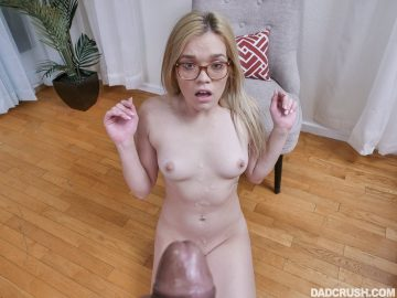 Katie Kush gets some skeet all over her body